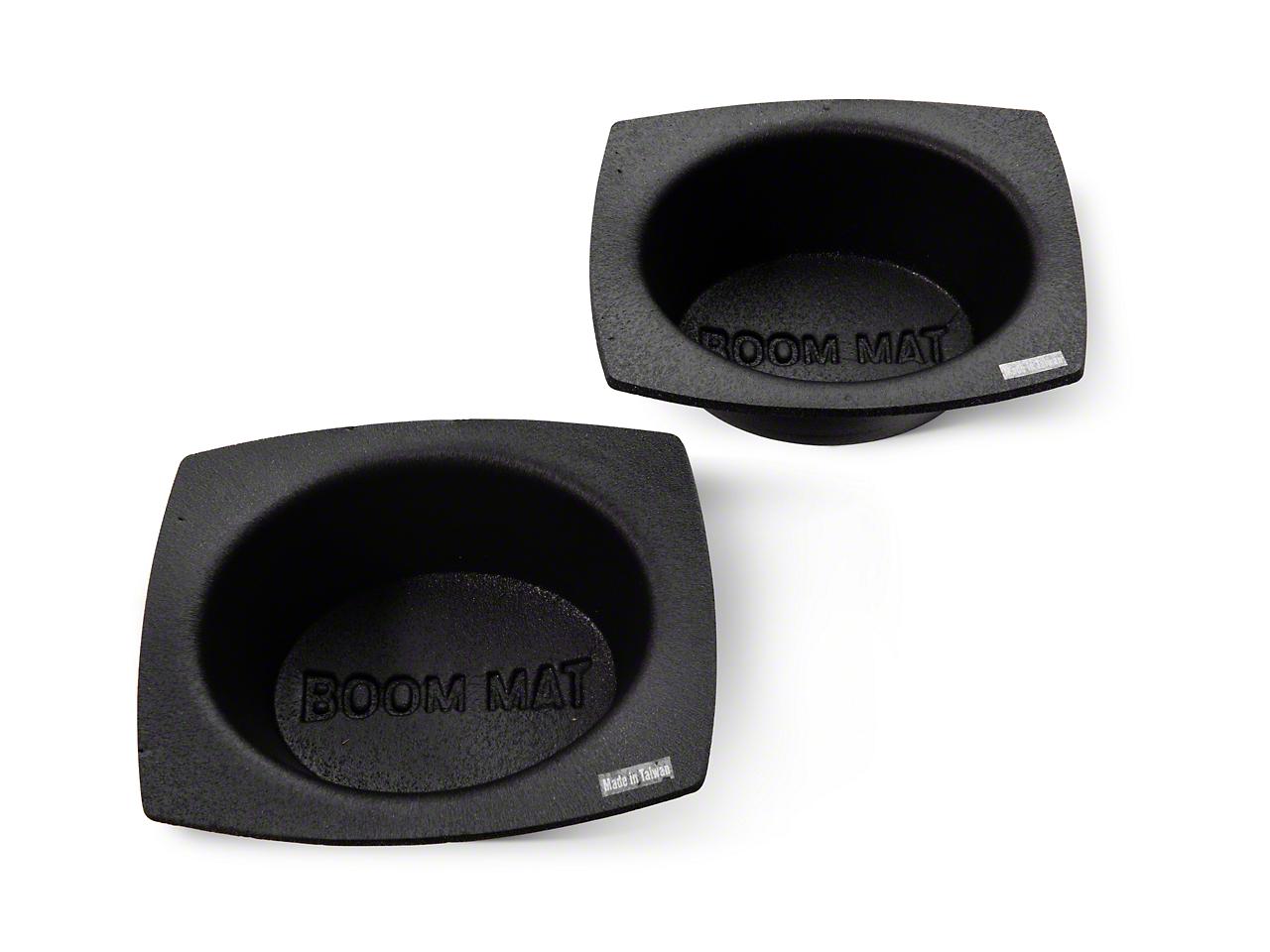 Boom Mat Speaker Baffles - 6x9 in. Oval (97-18 F-150)
