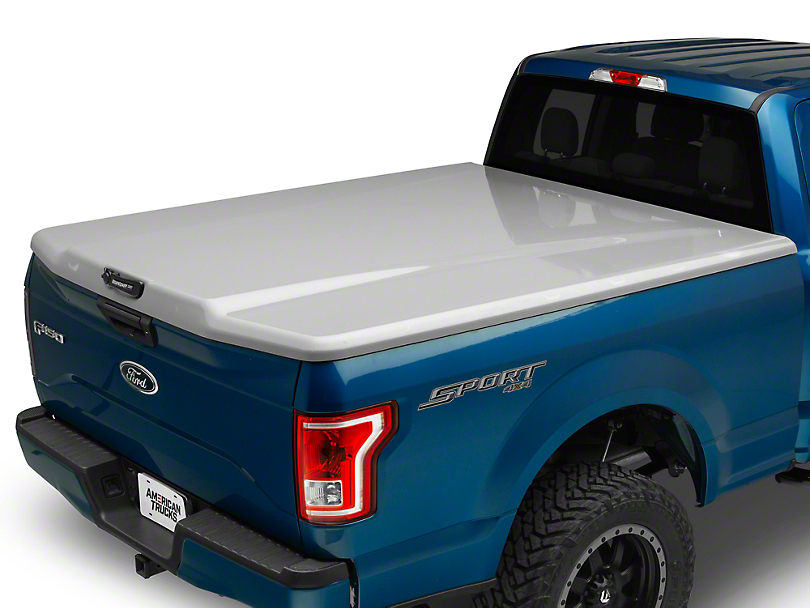 UnderCover Elite LX Hinged Tonneau Cover - Unpainted (15-18 F-150 w/ 5.5 ft. & 6.5 ft. Bed)