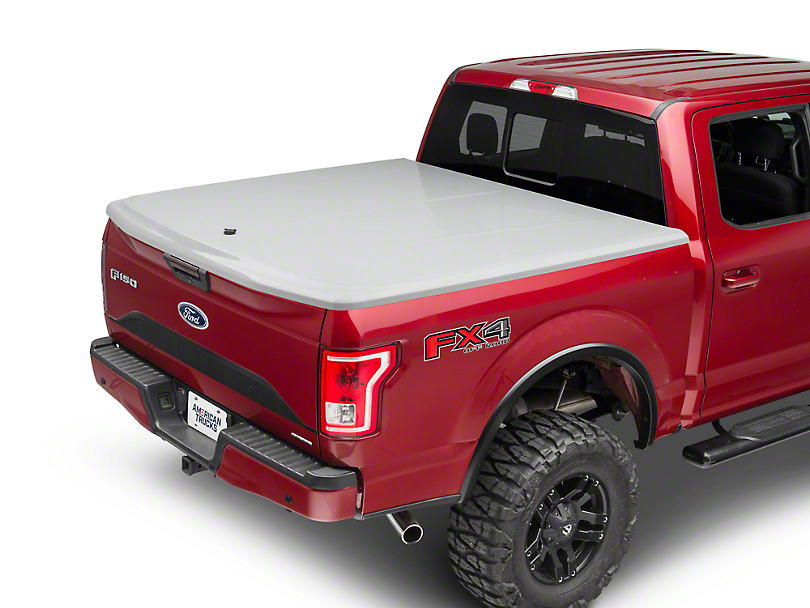 UnderCover LUX Hinged Tonneau Cover - Unpainted (15-18 F-150 w/ 5.5 ft. & 6.5 ft. Bed)