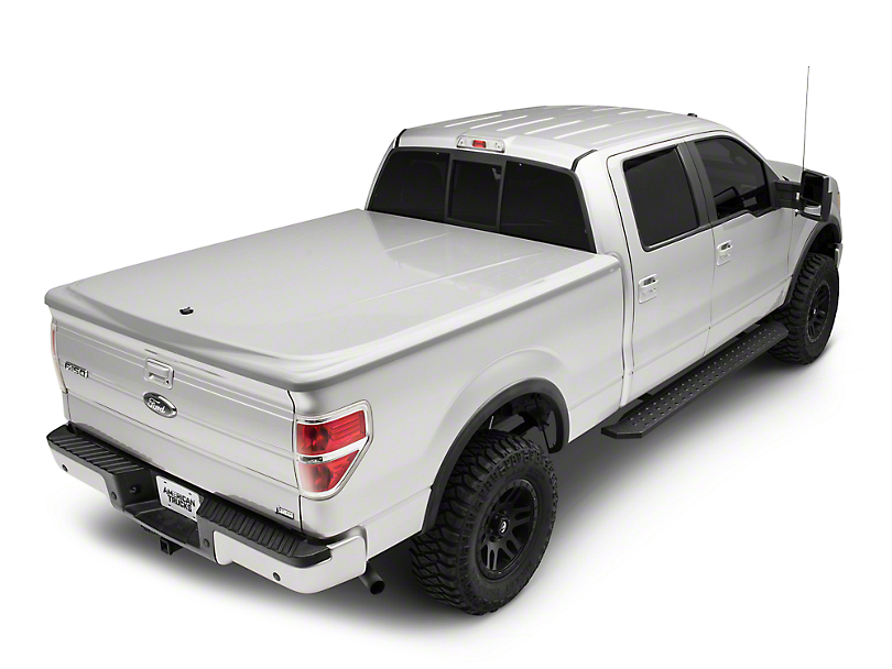 UnderCover LUX Hinged Tonneau Cover - Unpainted (09-14 F-150 Styleside w/ 5.5 ft. & 6.5 ft. Bed)