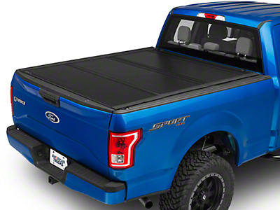 UnderCover Ultra Flex Tri-Fold Tonneau Cover - Black Textured (15-18 F-150 w/ 5.5 ft. & 6.5 ft. Bed)