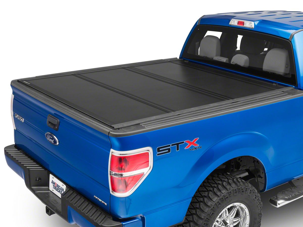 Undercover F 150 Ultra Flex Tri Fold Tonneau Cover Black Textured T537501 04 14 F 150 Styleside W 5 5 Ft 6 5 Ft Bed