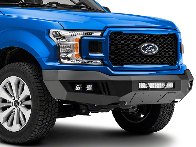 Barricade Extreme HD Front Bumper with LED Light Bar, Fog and Spot Lights (18-20 F-150, Excluding Raptor)