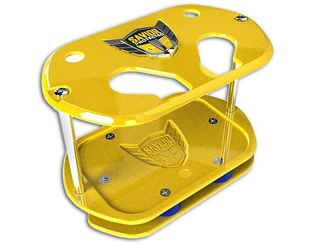 Savior Show Case for Optima 34 Batteries - Yellow Sparkle (97-19 F-150)
