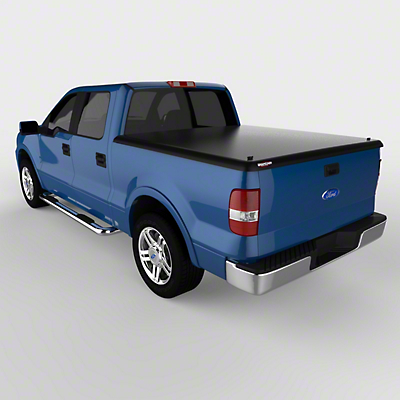 UnderCover Classic Hinged Tonneau Cover - Black Textured (04-08 F-150 Styleside w/ 5.5 ft. & 6.5 ft. Bed)