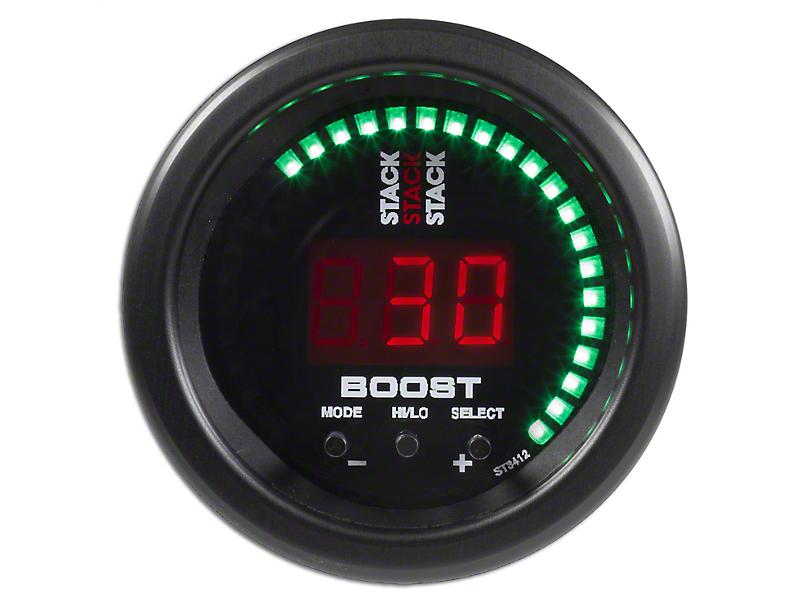 Auto Meter Stack Boost Controller Gauge - Black (97-19 F-150)