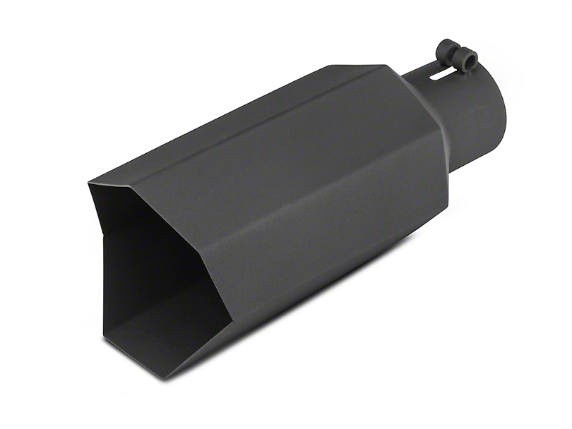Barricade 5 in. Big Mouth Exhaust Tip - Black - 3.0 in. Connection (97-19 F-150)