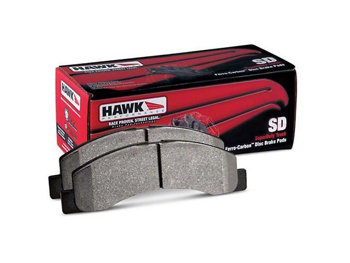 Hawk Performance SuperDuty Brake Pads - Front Pair (15-18 F-150)