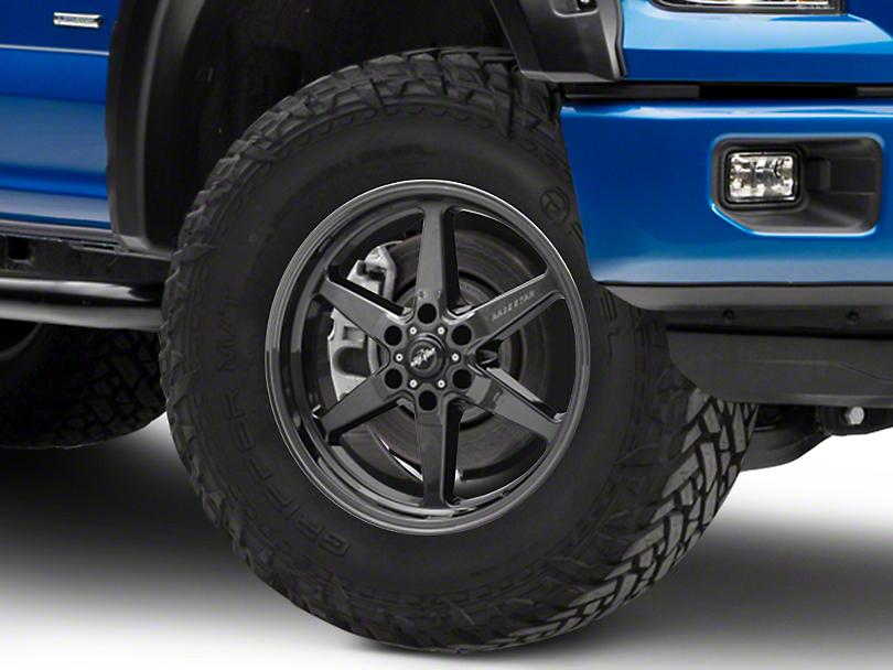 Race Star 93 Truck Star Black Chrome 6-Lug Wheel - 20x9; 25mm Offset (04-19 F-150)