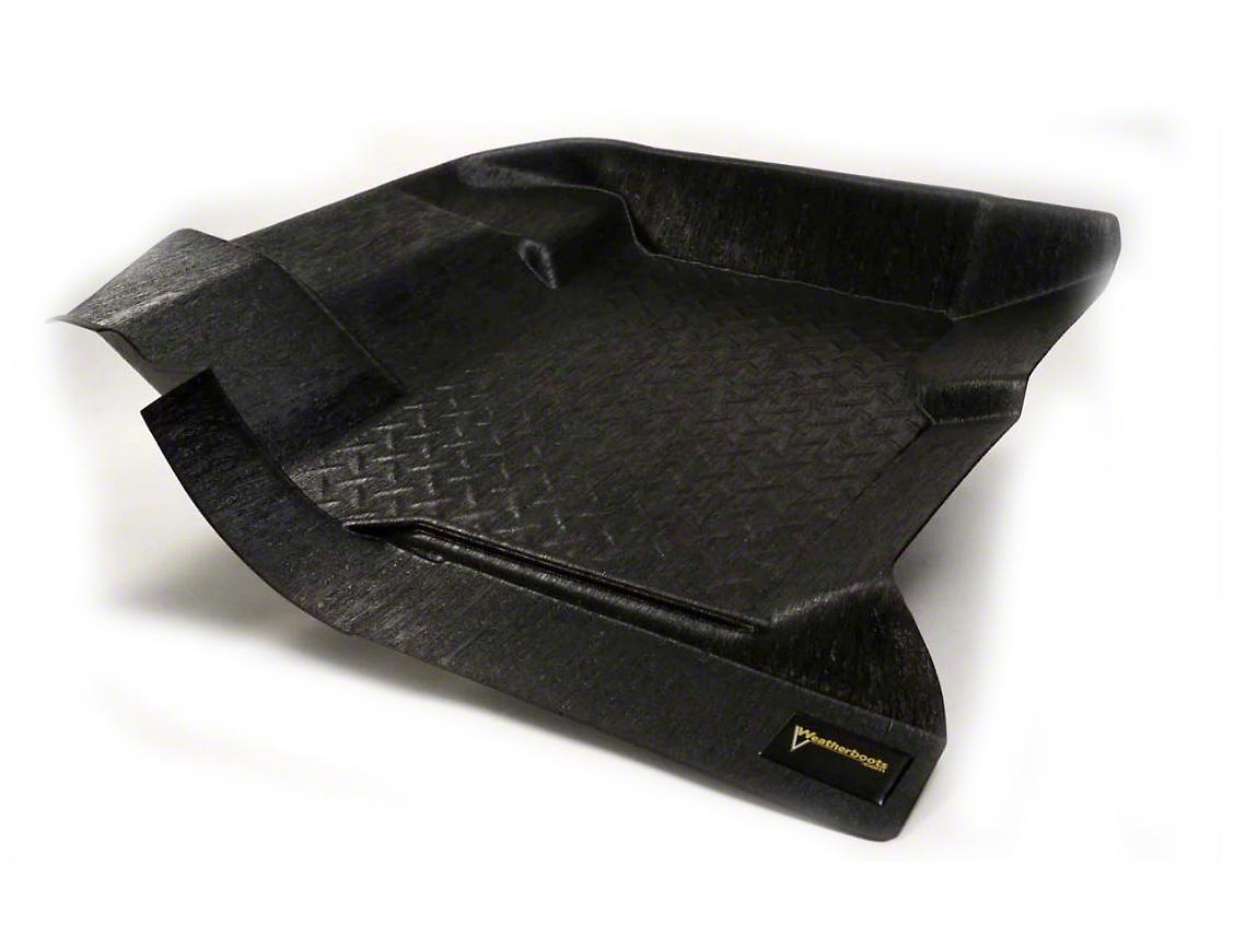 Weatherboots Treadplate Front Floor Liners - Black (15-18 F-150)
