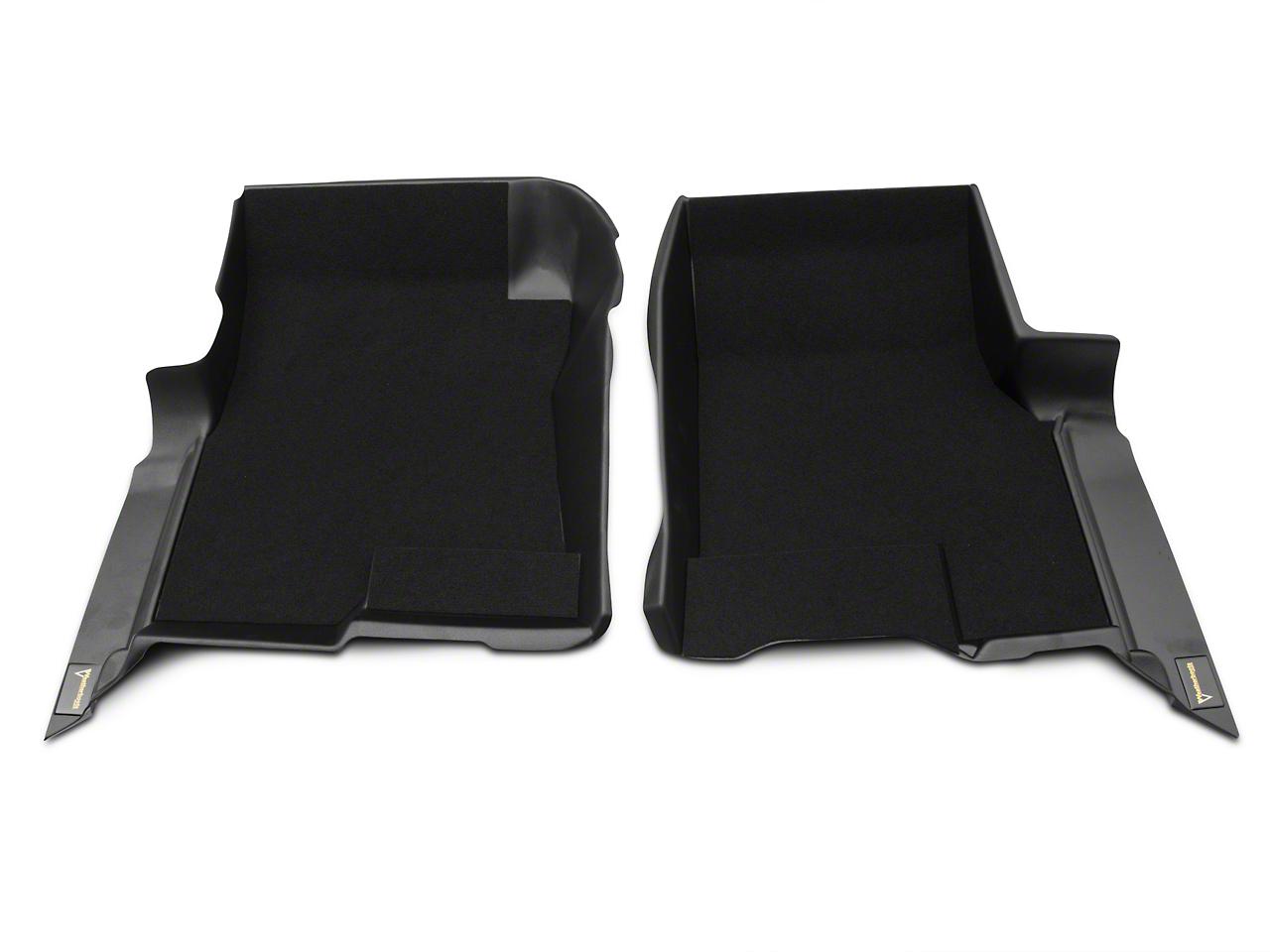 Weatherboots Classic Front Floor Liners - Black (09-14 F-150)