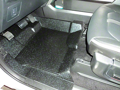 Weatherboots Heavy Duty Front Floor Liners - Black (09-14 F-150)
