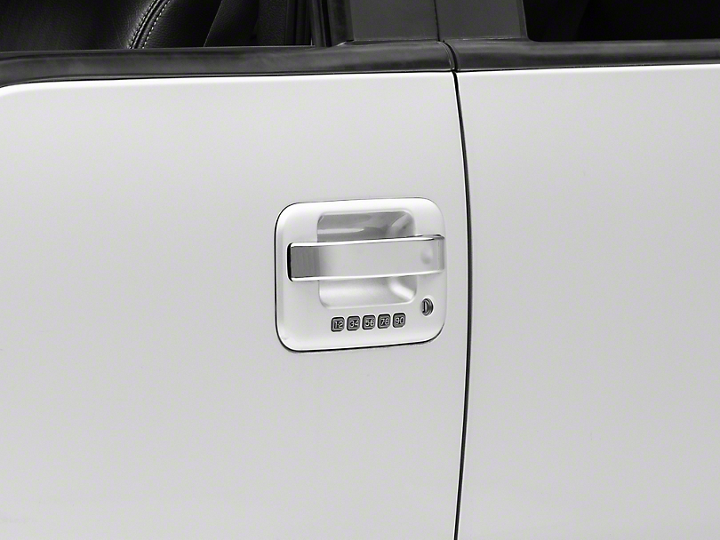 SpeedForm Chrome Door Handle Covers - Center Section Only (04-14 F-150 SuperCrew)