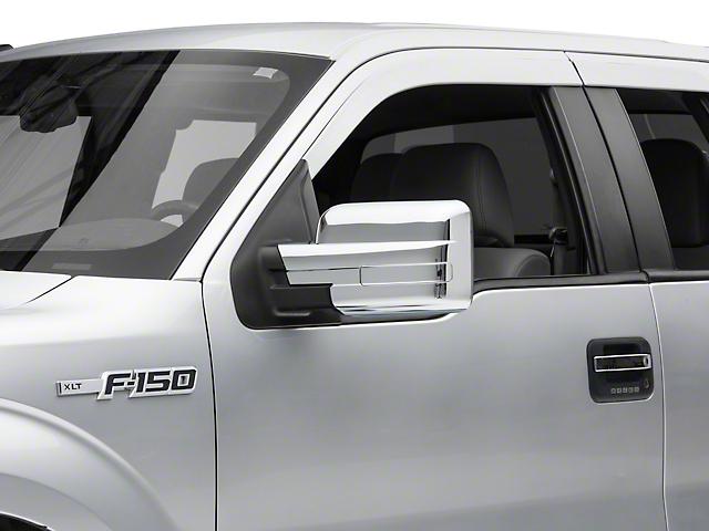 SpeedForm Mirror Covers; Chrome (09-14 F-150)
