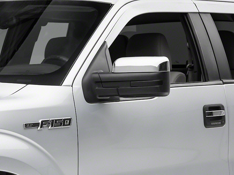SpeedForm Chrome Top Half Mirror Covers (09-14 F-150)