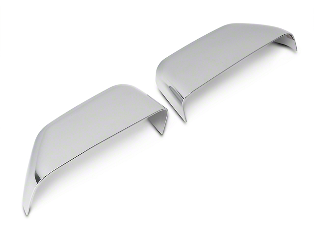 SpeedForm Chrome Top Half Mirror Covers for Towing Mirrors (15-19 F-150 w/ Towing Mirrors)
