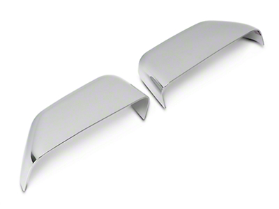 Chrome Top Half Mirror Covers for Towing Mirrors (15-18 F-150 w/ Towing Mirrors)