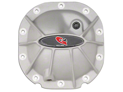 G2 Raw Aluminum Hammer Differential Cover - 8.8 in. (97-14 F-150)