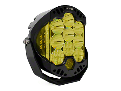 Baja Designs 8 in. LP9 Round Amber LED Light - Driving/Combo Beam