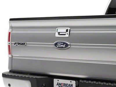 SpeedForm Chrome Tailgate Handle Cover w/o Camera Hole (04-14 F-150)
