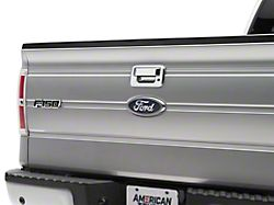 SpeedForm Tailgate Handle Cover without Backup Camera Hole; Chrome (04-14 F-150)