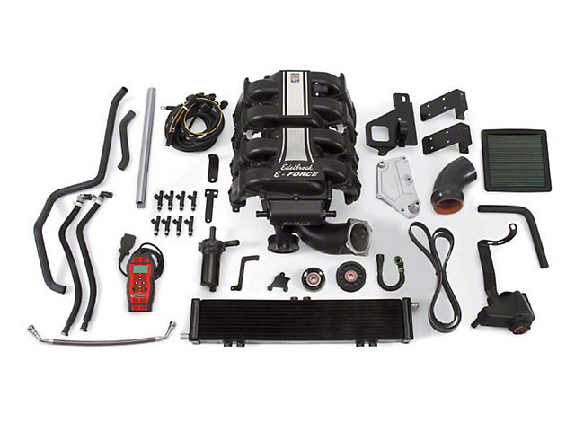 Edelbrock E-Force Stage 1 Street Supercharger Kit (15-17 5.0L F-150)