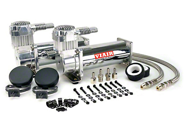 Viair Dual Stealth Black 444C High-Performance Air Compressors