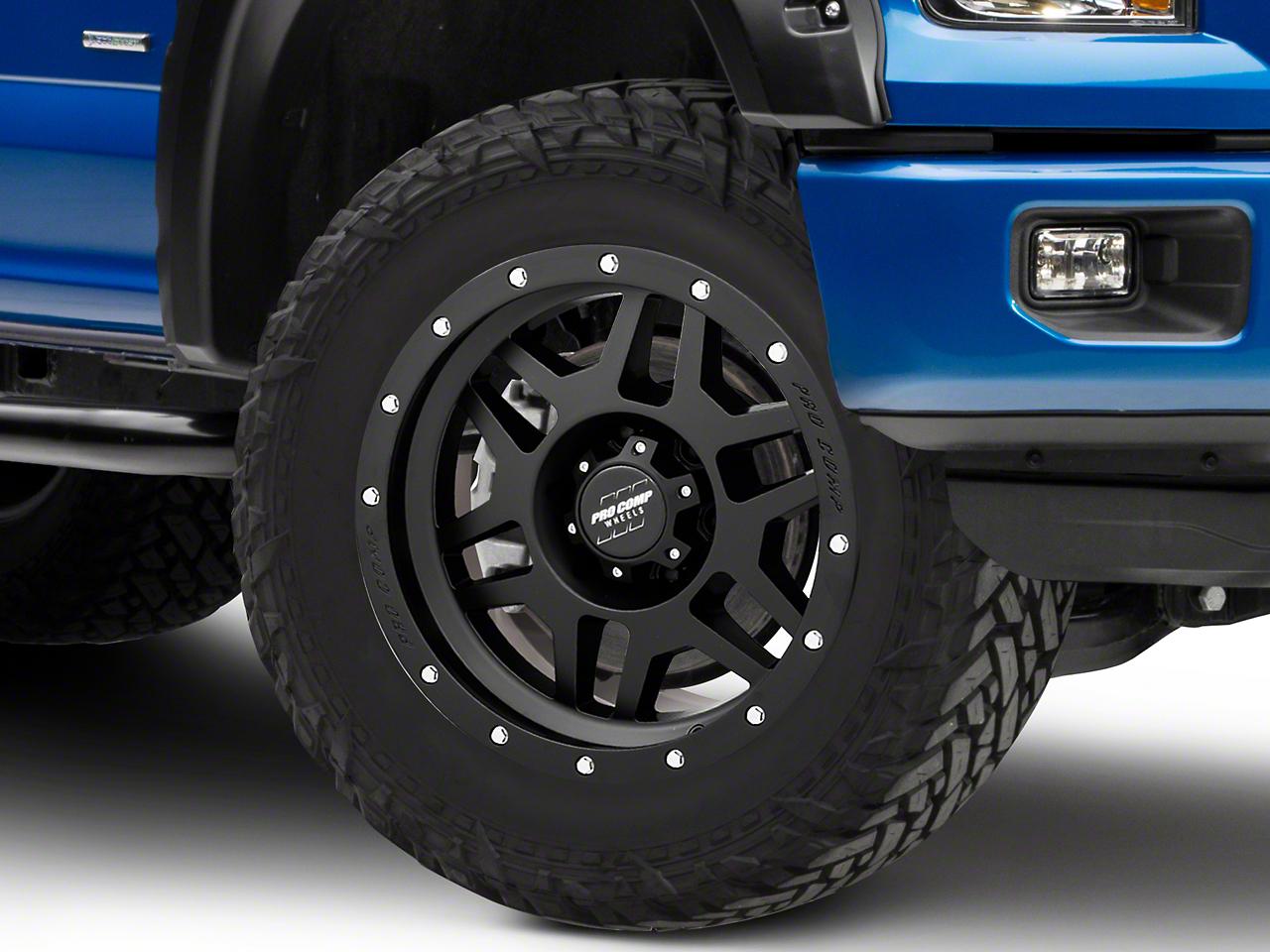 Pro Comp Phaser Satin Black 6-Lug Wheel - 20x9 (04-18 F-150)