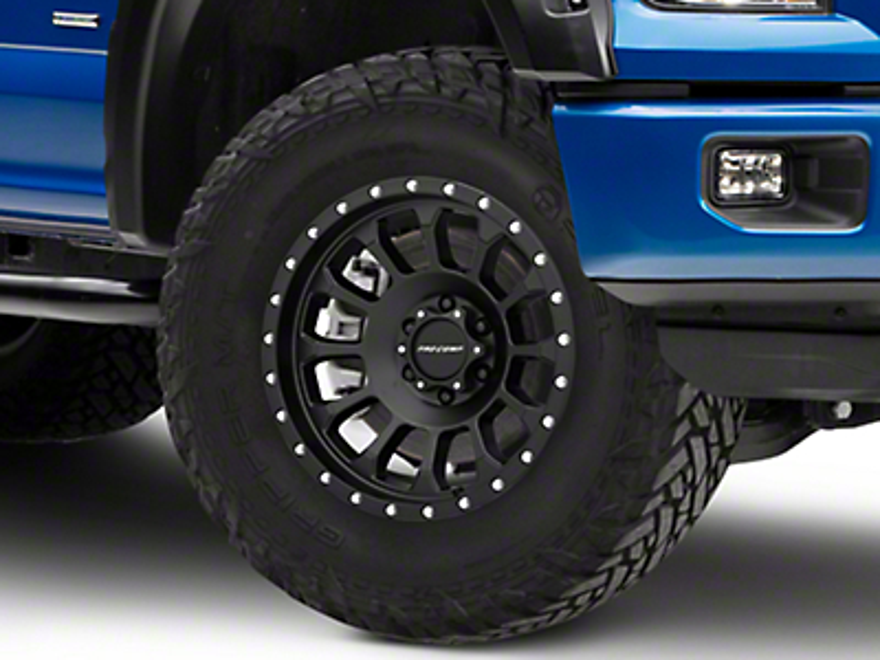 Pro Comp Rockwell Satin Black 6-Lug Wheel - 18x9 (04-19 F-150)