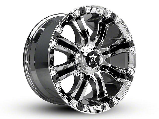 RBP 94R Chrome w/ Black Inserts 6-Lug Wheel - 22x12; -44mm Offset (15-19 F-150)