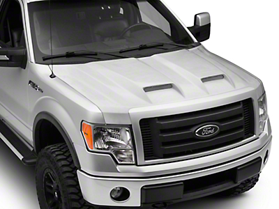 SpeedForm Dual Inlet Hood - Unpainted (09-14 F-150, Excluding Raptor)