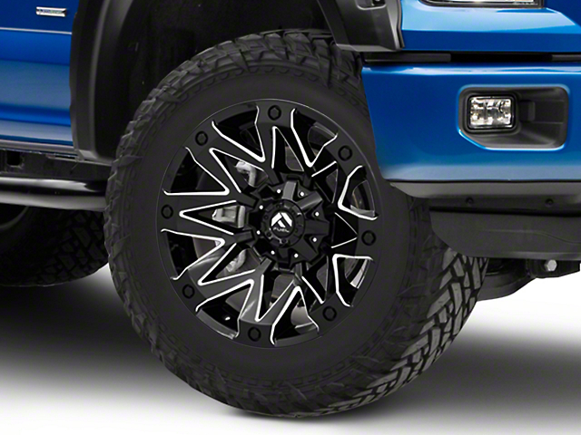 Fuel Wheels Ambush Gloss Black Milled 6-Lug Wheel - 20x10; -18mm Offset (15-19 F-150)