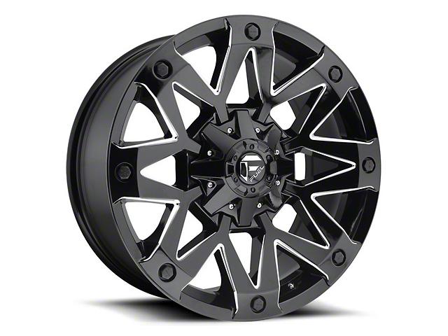 Fuel Wheels Ambush Gloss Black Milled 6-Lug Wheel - 17x9 (04-19 F-150)