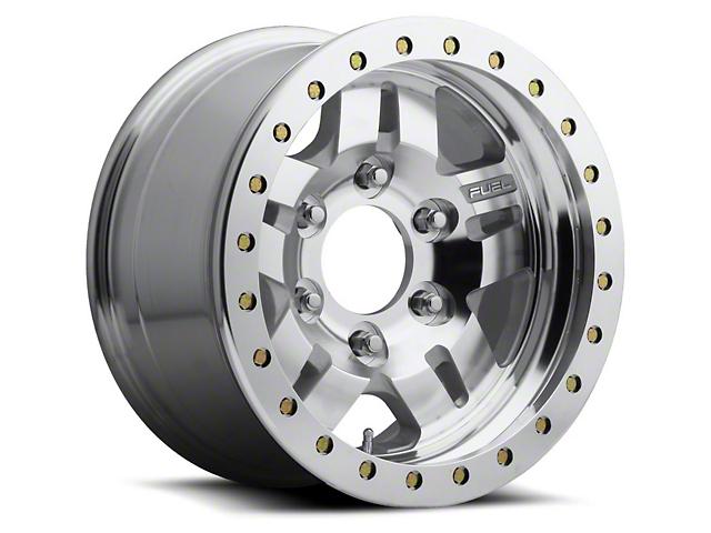 Fuel Wheels Anza Bead Lock Raw Machined 6-Lug Wheel - 17x9; -14mm Offset (15-19 F-150)