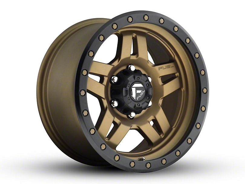 Fuel Wheels Anza Bronze 6-Lug Wheel - 17x8.5 (04-19 F-150)