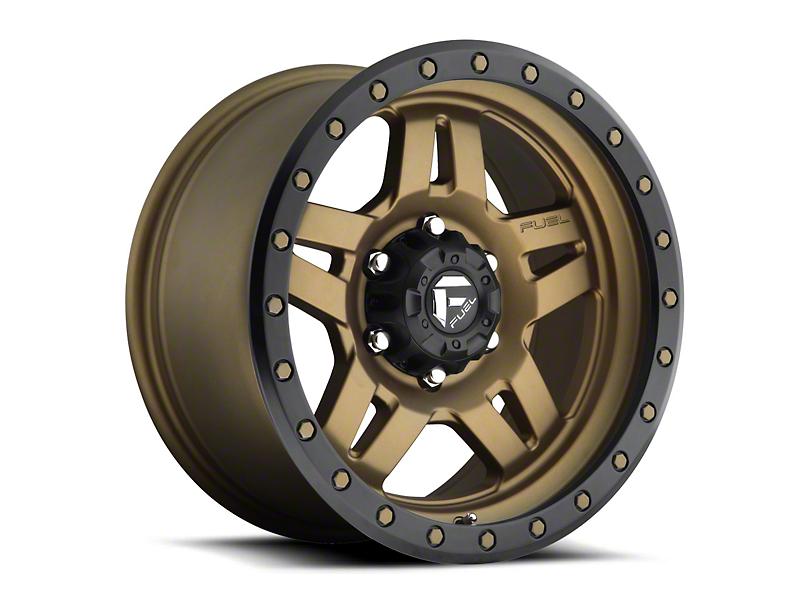 Fuel Wheels Anza Bronze 6-Lug Wheel - 20x10 (04-19 F-150)