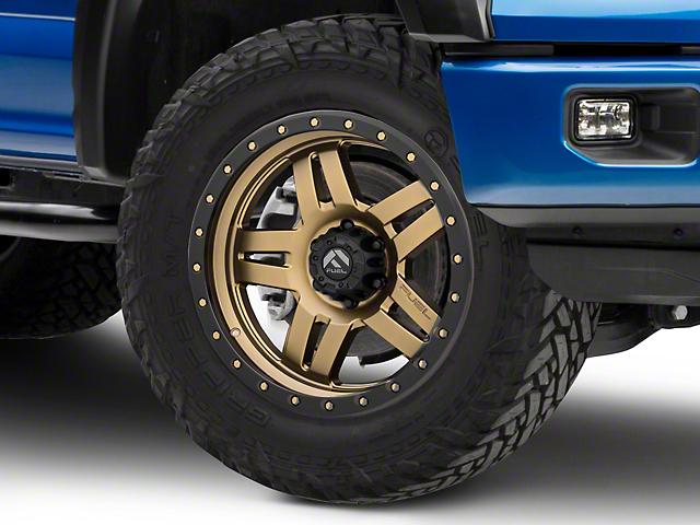 Fuel Wheels Anza Bronze 6-Lug Wheel - 20x9 (15-19 F-150)