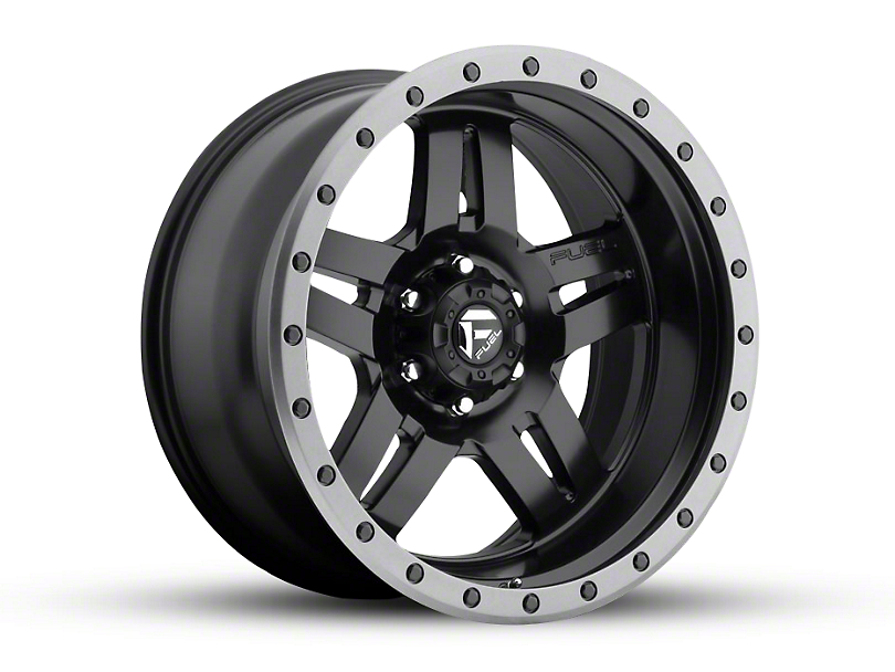 Fuel Wheels Anza Matte Black 6-Lug Wheel - 20x10; -18mm Offset (15-19 F-150)
