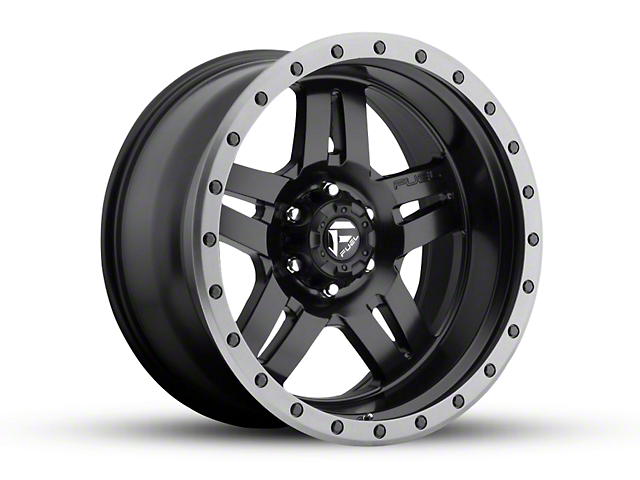 Fuel Wheels Anza Matte Black 6-Lug Wheel - 20x10 (04-19 F-150)