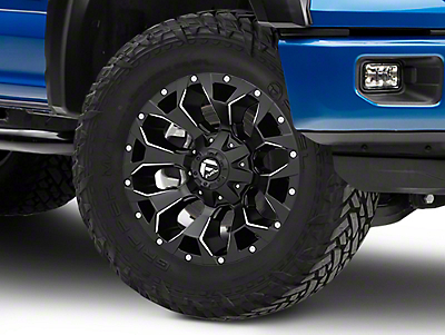 Fuel Wheels Assault Black Milled 6-Lug Wheel - 18x9 (04-19 F-150)