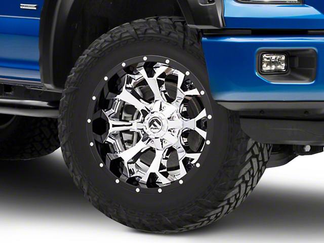Fuel Wheels Assault Chrome 6-Lug Wheel - 20x10; -18mm Offset (15-19 F-150)