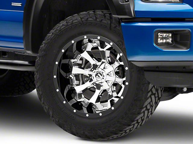 Fuel Wheels Assault Chrome 6-Lug Wheel - 20x12; -43mm Offset (04-19 F-150)