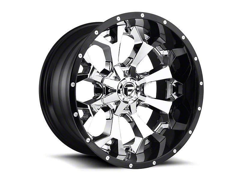 Fuel Wheels Assault Chrome 6-Lug Wheel - 22x10; -13mm Offset (15-19 F-150)