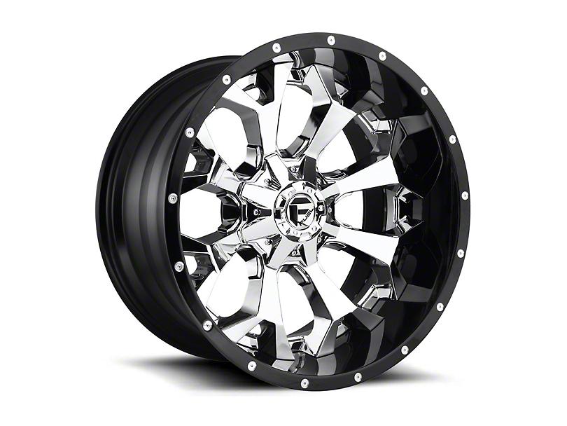 Fuel Wheels Assault Chrome 6-Lug Wheel - 22x12; -44mm Offset (15-19 F-150)