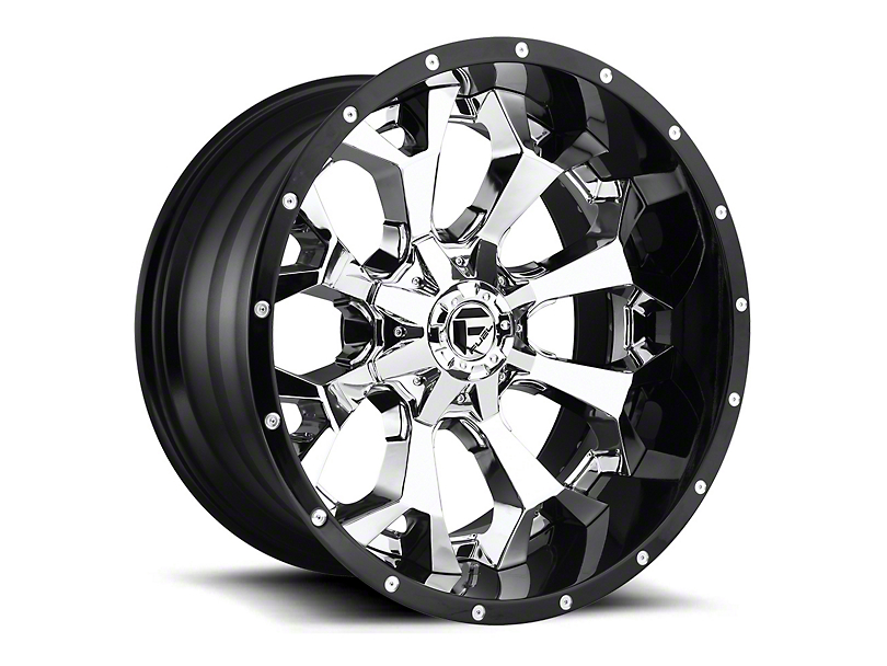 Fuel Wheels Assault Chrome 6-Lug Wheel - 22x14; -70mm Offset (15-19 F-150)