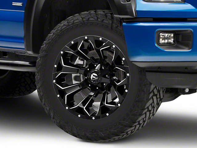 Fuel Wheels Assault Gloss Black 6-Lug Wheel - 20x10; -18mm Offset (15-19 F-150)