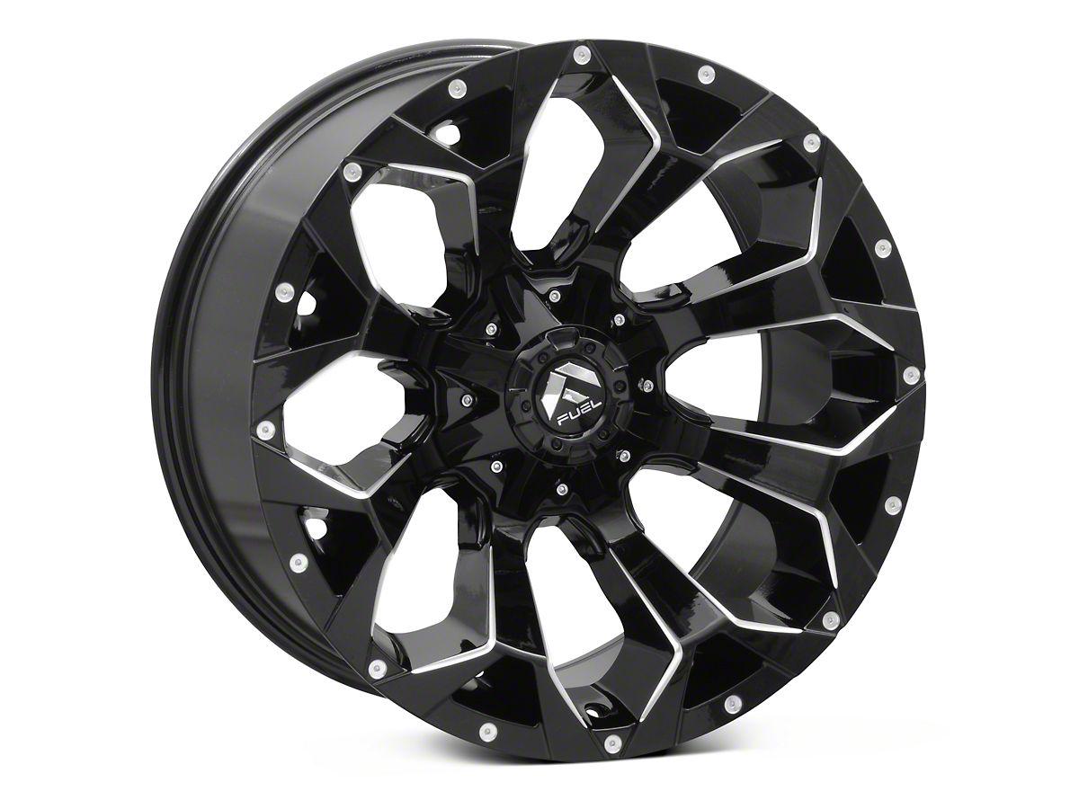 Fuel Truck Wheels >> Fuel Wheels Assault Gloss Black 6 Lug Wheel 20x10 18mm Offset 15 20 F 150
