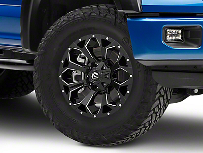 Fuel Wheels Assault Gloss Black 6-Lug Wheel - 20x9 (04-19 F-150)
