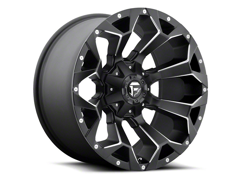 Fuel Wheels Assault Matte Black Milled 6-Lug Wheel - 24x11 (04-19 F-150)