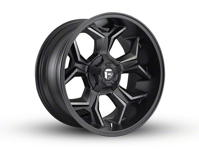 Fuel Wheels Avenger Black Machined w/ Dark Tint 6-Lug Wheel - 20x10 (04-19 F-150)
